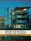 Construction Materials, Methods and Techniques 3rd Edition