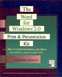 The Word for Windows 2.0 9780201581089
