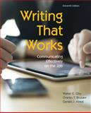 Writing That Works 11th Edition