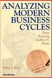 Analyzing Modern Business Cycles 9781587981241
