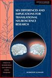Sex Differences and Implications for Translational Neuroscience Research 9780309161244