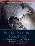 Social Studies Content for Elementary and Middle School Teachers 9780137011254