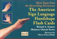 The American Sign Language Handshape Flash Cards 9781563681257