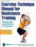 Exercise Technique Manual for Resistance Training 9780736071277