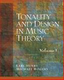 Tonality and Design in Music Theory