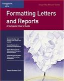 Formatting Letters and Reports 9781560521303