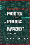 Essentials of Production and Operations Management 9780304331307