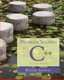Problem Solving with C++ 9780321531346