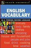 Teach Yourself English Vocabulary 9780658021374