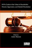 BVR's Guide to Fair Value in Shareholder Dissent, Oppression, and Marital Dissolution, 2010 Edition 9781935081388