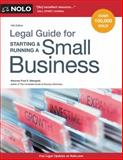 Legal Guide for Starting and Running a Small Business 14th Edition