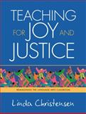 Teaching for Joy and Justice 1st Edition