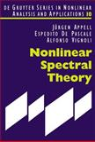 Nonlinear Spectral Theory 9783110181432