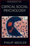 Critical Social Psychology 9780820431482