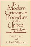 The Modern Grievance Procedure in the United States 9780899301495