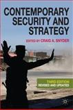 Contemporary Security and Strategy 9780230241497