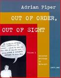 Out of Order, Out of Sight 9780262661522
