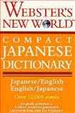 Webster's New World Compact Japanese Dictionary Japanese-English, English-Japanese 9780671551599