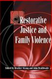 Restorative Justice and Family Violence 9780521521659
