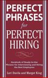Perfect Phrases for Perfect Hiring 9780071481700