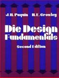 Die Design Fundamentals 9780831111724