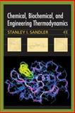 Chemical, Biochemical, and Engineering Thermodynamics 9780471661740