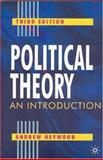 Political Theory 9780333961803