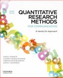 Quantitative Research Methods for Communication 2nd Edition