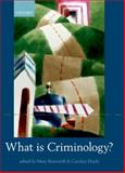 What Is Criminology? 9780199571826