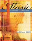Music in Theory and Practice Volume 1 8th Edition