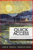 Quick Access Reference for Writers Plus Pearson EText with MyWritingLab -- Access Card Package 7th Edition