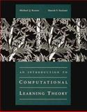 An Introduction to Computational Learning Theory 9780262111935