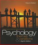 Concept Charts for Weiten's Psychology 8th Edition