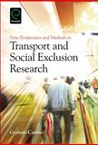 New Perspectives and Methods in Transport and Social Exclusion Research 9781780522005