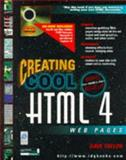 Creating Cool HTML 4 Web Pages 9780764532016