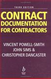 Contract Documentation for Contractors 9780632052028