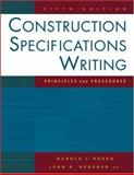 Construction Specifications Writing 9780471432043