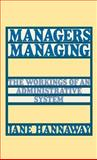 Managers Managing 9780195052077