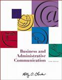 Business and Administrative Communication with CD and E-text 9780072472134