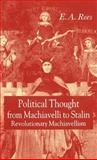 Political Thought from Machiavelli to Stalin 9781403932143