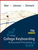 College Keyboarding and Document Processing 9780073372198