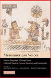 Mesoamerican Voices 9780521012218