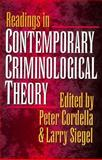 Reading in Contemporary Criminological Theory 9781555532246