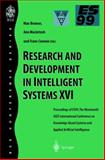 Research and Development in Intelligent Systems XVI 9781852332310