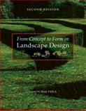 From Concept to Form in Landscape Design 9780470112311