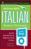 McGraw-Hill's Italian Student Dictionary for Your iPod 9780071592352