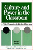 Culture and Power in the Classroom 9780897892360