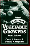Knott's Handbook for Vegetable Growers 9780471852407