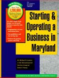 Starting and Operating a Business in Maryland 9781555712419