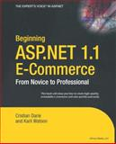 Beginning ASP. NET 1. 1 E-Commerce 9781590592540